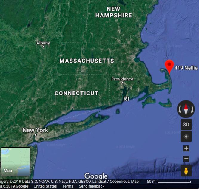 Wellfleet Massachusetts in the Cape Cod National Seashore